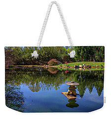 Weekender Tote Bag featuring the photograph Japanese Reflections At Maymont by Rick Berk