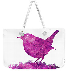 Japanese Robin Bird Weekender Tote Bag