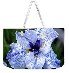 Japanese Water Iris In Blue 2695 H_3 Weekender Tote Bag