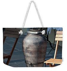 Jar Weekender Tote Bag by Bruno Spagnolo
