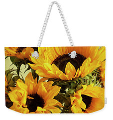 Jar Of Sunflowers Weekender Tote Bag