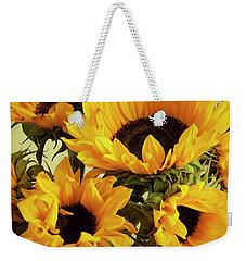 Jar Of Sunflowers Weekender Tote Bag