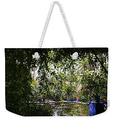 Weekender Tote Bag featuring the photograph Jardin Majorelle 2 by Andrew Fare