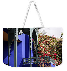 Weekender Tote Bag featuring the photograph Jardin Majorelle 3 by Andrew Fare