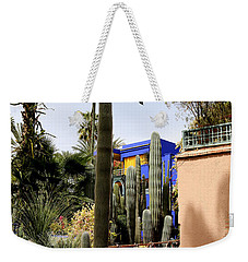 Weekender Tote Bag featuring the photograph Jardin Majorelle 4 by Andrew Fare