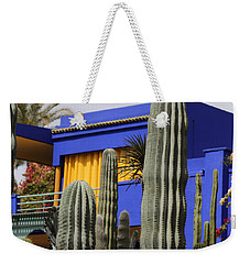 Weekender Tote Bag featuring the photograph Jardin Majorelle 5 by Andrew Fare