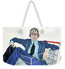 Jarvis Cocker 'off Yer Trolley' Weekender Tote Bag