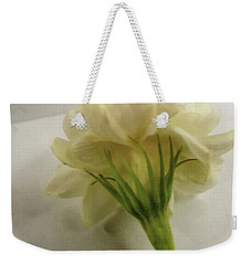 Weekender Tote Bag featuring the photograph Jasmine by Bruce Carpenter