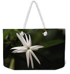 Weekender Tote Bag featuring the photograph Jasmine Flower by Cristina Stefan