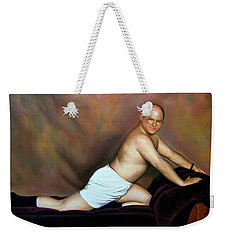 Jason Alexander As George Costanza Weekender Tote Bag