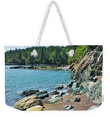 Jasper Beach Weekender Tote Bag