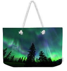 Jasper National Park Aurora Weekender Tote Bag