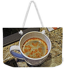 Weekender Tote Bag featuring the photograph Java Central by Lynda Lehmann