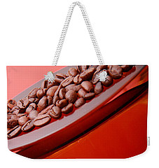 Java In Red Weekender Tote Bag