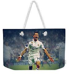 Javier Hernandez Balcazar Weekender Tote Bag by Semih Yurdabak