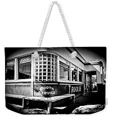 Weekender Tote Bag featuring the photograph Jax Diner, Truckee by Vinnie Oakes
