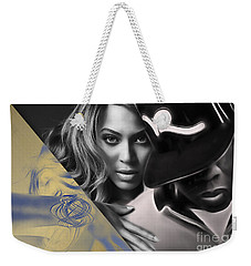 Jay Z Beyonce Collection Weekender Tote Bag