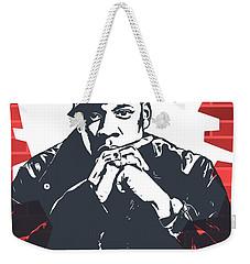 Jay Z Graffiti Tribute Weekender Tote Bag