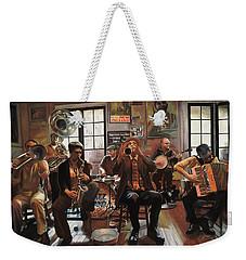 Jazz A 7 Weekender Tote Bag