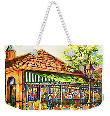 Jazz At Cafe Du Monde Weekender Tote Bag