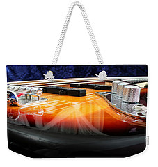 Jazz Bass Beauty Weekender Tote Bag