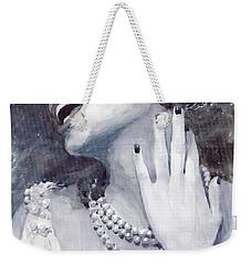 Jazz Billie Holiday Weekender Tote Bag