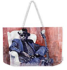 Jazz Bluesman John Lee Hooker 02 Weekender Tote Bag