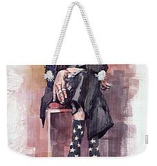 Jazz Bluesman John Lee Hooker Weekender Tote Bag