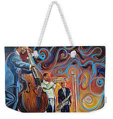 Jazz Brother  Weekender Tote Bag