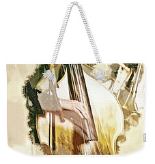 Weekender Tote Bag featuring the photograph Jazz Dreams by Cameron Wood