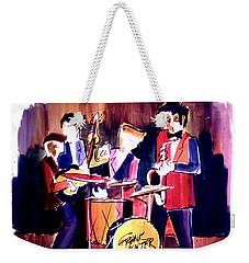 Jazz Weekender Tote Bag by Frank Hunter