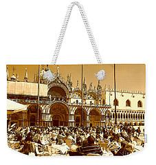 Jazz In Piazza San Marco Weekender Tote Bag