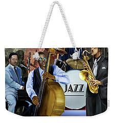 Jazz Jazz Jazz Weekender Tote Bag