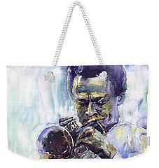 Jazz Miles Davis 10 Weekender Tote Bag
