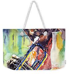 Jazz Miles Davis 9 Blue Weekender Tote Bag