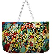 Jazz Rock Weekender Tote Bag