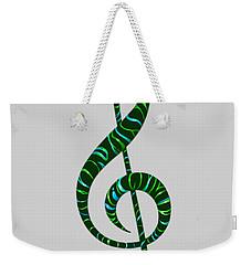 Jazz T Weekender Tote Bag