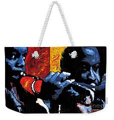 Jazz Trumpeters Weekender Tote Bag