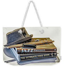 Weekender Tote Bag featuring the photograph Jazz by Walt Foegelle