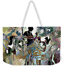 Jazzy Night 3 Weekender Tote Bag