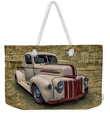 Weekender Tote Bag featuring the photograph Jb Pickup by Keith Hawley