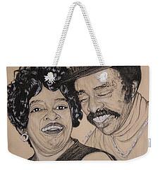 Jb  Wg Portrait Weekender Tote Bag