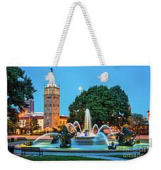 J.c. Nichols Memorial Fountain Weekender Tote Bag