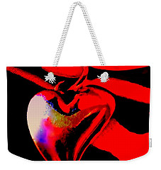 Je T'aime A La  Folie  - Valentine   Dedicated Weekender Tote Bag