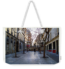 Jean Beauvais Paris Couple Walking Weekender Tote Bag by Felipe Adan Lerma