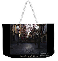 Jean Beauvais Paris Evening Light Weekender Tote Bag by Felipe Adan Lerma