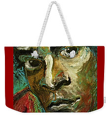 Jean-michel Basquiat Weekender Tote Bag by Helen Syron
