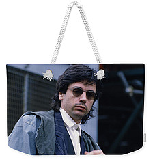Jean Michel Jarre Weekender Tote Bag by Shaun Higson