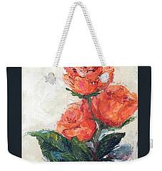 Jeannie's Roses Weekender Tote Bag