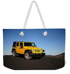 Jeep Rubicon In The Cinders Weekender Tote Bag